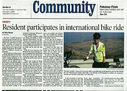 cycling article